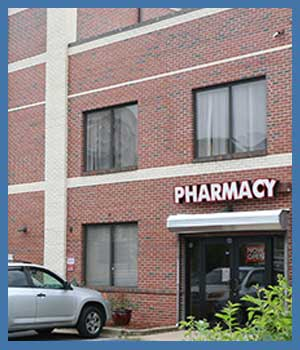Pharmacy Services at Express Healthcare in College Park MD, New Carrollton MD, Falls Church VA and Vienna, VA