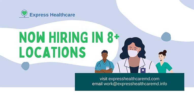 Employment Opportunities Near Me - We serve patients from College Park MD, New Carrollton MD, Falls Church VA, Vienna VA